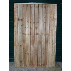 Closeboard Gate- straight  6ft high x up to 3ft wide