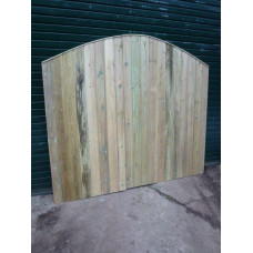 Driveway Gates - Barrel Board (Convex) Up to 6ft Wide