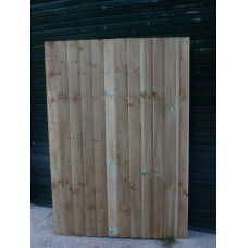 Closeboard Gate- Unframed  6ft high x up to 3ft wide