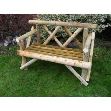 4ft ECONOMY RUSTIC BENCH/SEAT