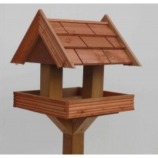TILE EFFECT Bird Table, Standard size (with stand)