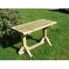 Standard Height GARDEN TABLE (6ft long x 2ft wide) *Delivered fully assembled*