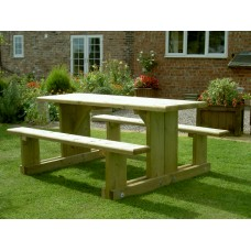 Easy Access Picnic Table (4ft)